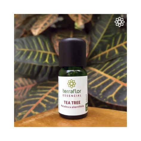 Óleo Essencial de Tea Tree (Melaleuca) - 10ml - R$ 42