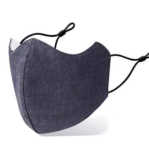 Deluxe Adult Washable Cloth Face Mask - Vintage Navy
