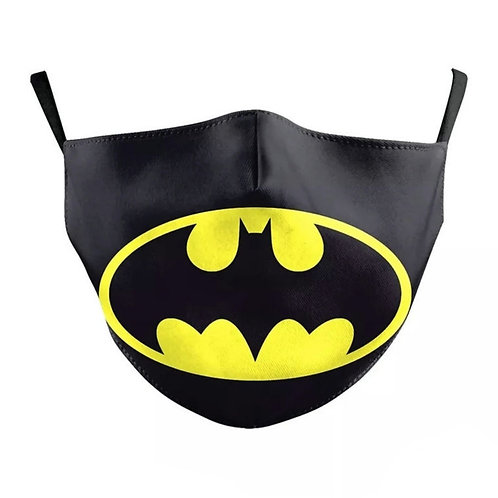 Kids Washable Cloth Face Mask + 2 Filters - Batman Forever