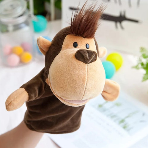 Plush high quality hand puppet - Mac the Monkey