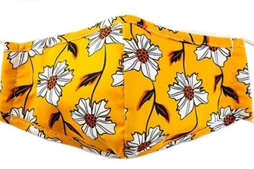 Adult Washable Cloth Face Mask + Filter - Little Miss Sunshine
