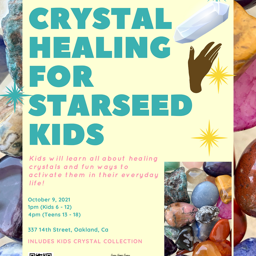 Crystal Healing for Starseeds - Pre-Teens