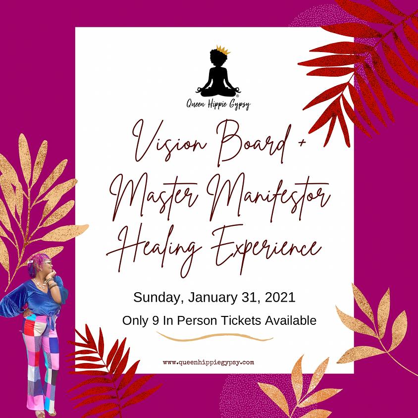 Vision Board Master Manifestor Healing Experience