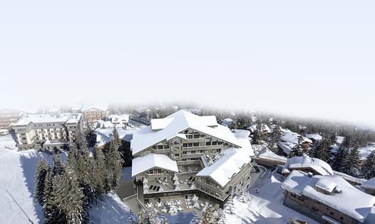 Le groupe Barrière annonce l'ouverture de l'Hôtel Barrière Les Neiges Courchevel en France pour