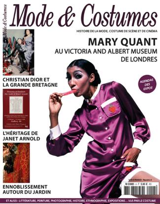 L'exposition Mary Quant à Londres à la Une du numéro 6 de Mode & Costumes, le magazine de l&