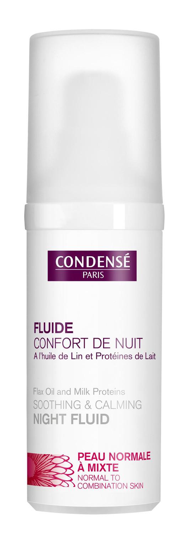 Rituel nocturne avec le Fluide Confort de Nuit Condensé Paris
