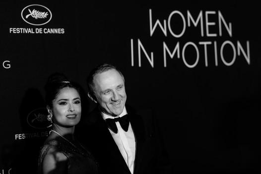 Remise des Prix Women in Motion 2018 lors d'une soirée cannoise