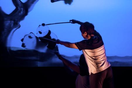 Spectacle d'ombres : À quoi rêvent les pandas ? au Théâtre Claude Levi-Strauss Musée du quai Branly