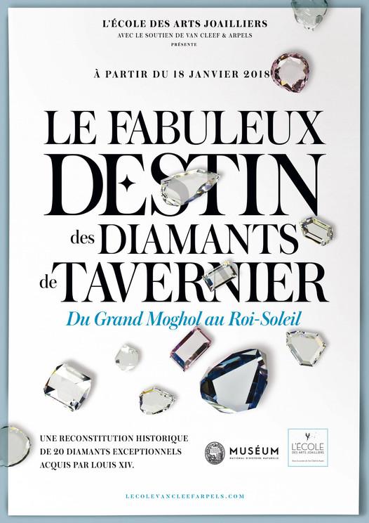 Le fabuleux destin des diamants de Tavernier  Du Grand Moghol au Roi-Soleil dès le 18 janvier 2018 à