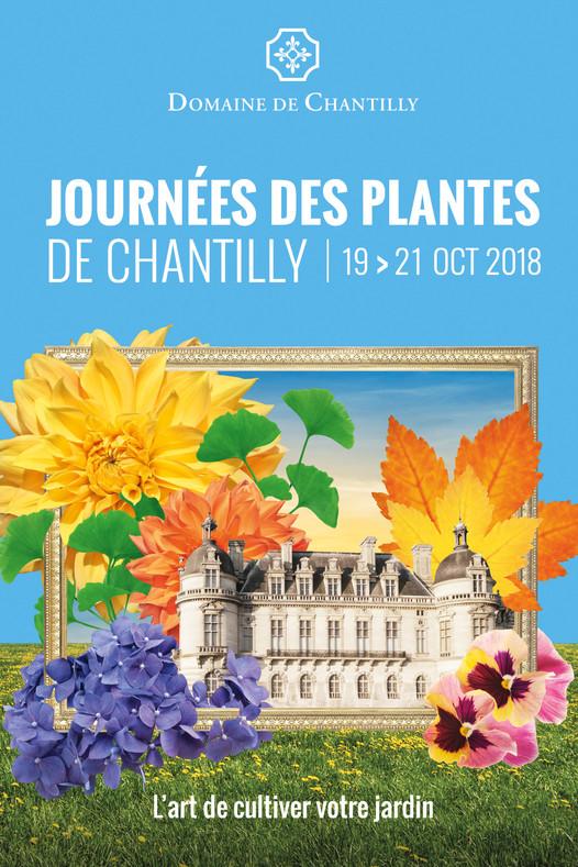 8e édition des Journées des plantes de Chantilly les 19, 20 et 21 octobre 2018