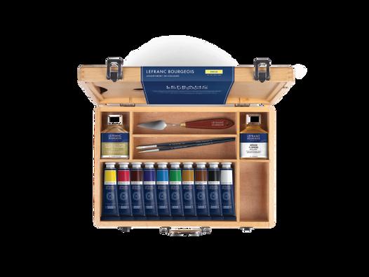Lefranc Bourgeois et Winsor & Newton proposent des kits de peinture pour les parents artistes