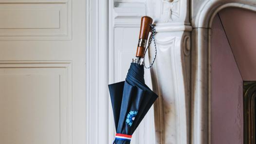 Le Parapluie de Cherbourg s'unit avec le Bleuet de France