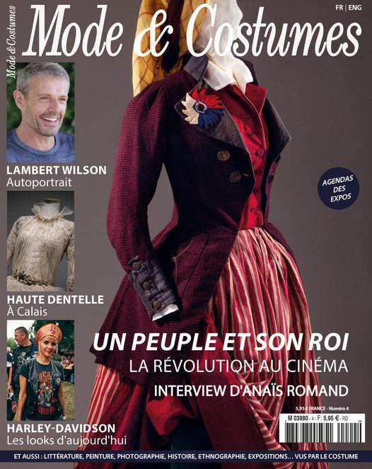 La révolution française au cinéma à la Une du numéro 4 de Mode & Costumes