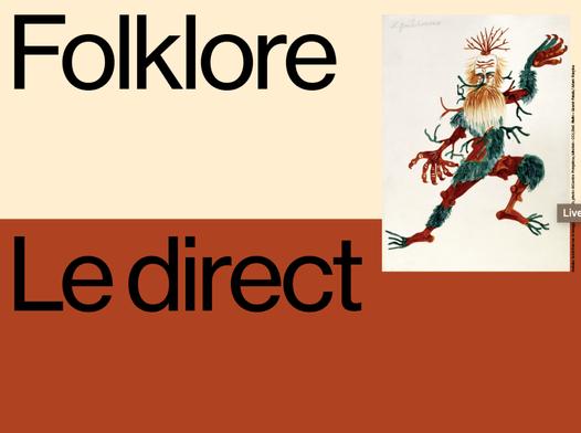 Folklore, l'exposition du Mucem en live