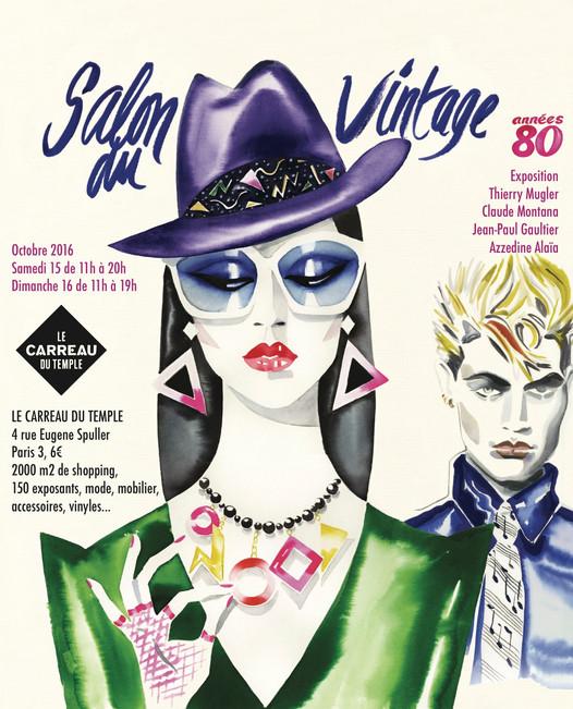 Salon du vintage 2016 : les 80's à l'honneur