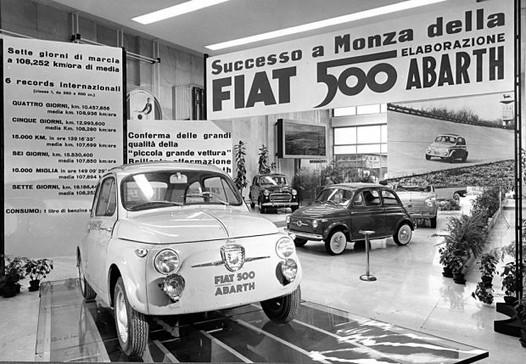 FCA Heritage rend hommage à Abarth au Salon Rétromobile