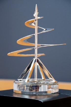 L'entreprise familiale autrichienne Swarovski reçoit le 7ème PRIX Léonard de Vinci des mains de l&#3