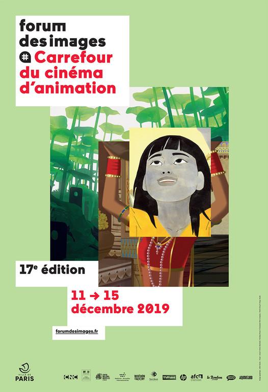 Carrefour du cinéma d'animation au Forum des images du 11 au 15 décembre 2019