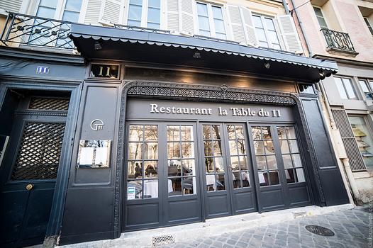 Nouveau restaurant étoilé à Versailles