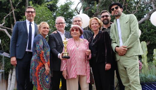 Les hommages à Agnès Varda