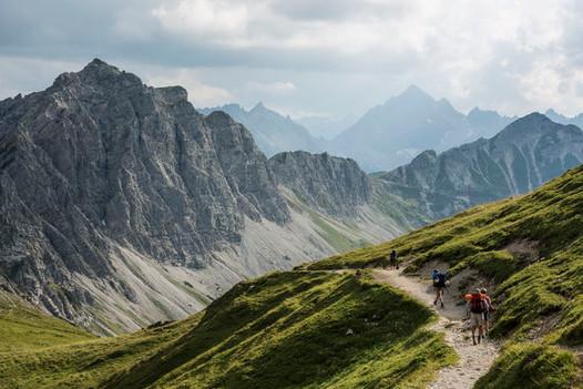 Les randonnées au Tyrol, un land de l'Autriche situé dans les Alpes