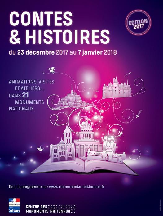 La magie des contes de Noël dans les Monuments Nationaux du 17 décembre 2017 au 7 janvier 2018