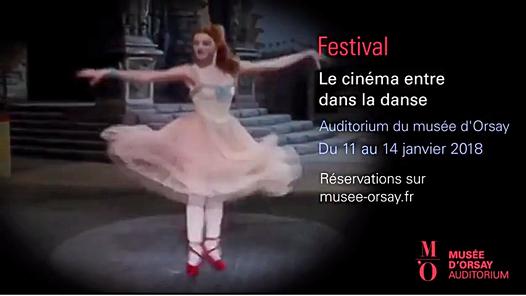 Le cinéma entre dans la danse du 11 au 14 janvier 2018 au Musée d'Orsay