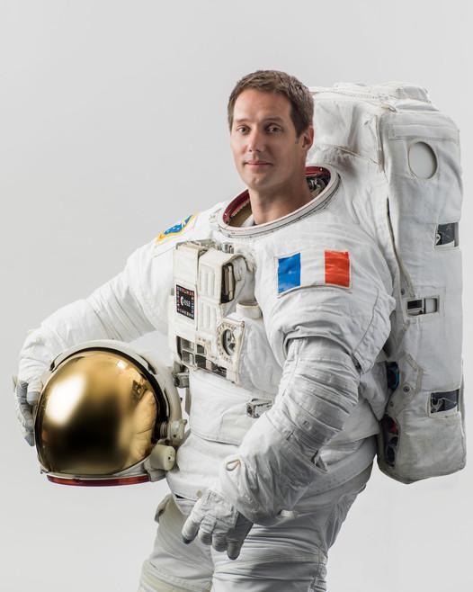 Thomas Pesquet a intégré la station spatiale internationale