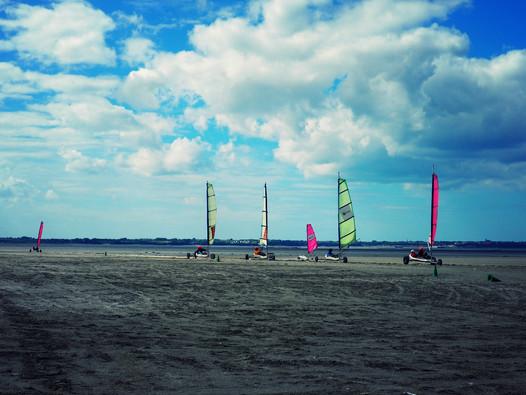 Le Char à voile en Bretagne,un sport pour tous !
