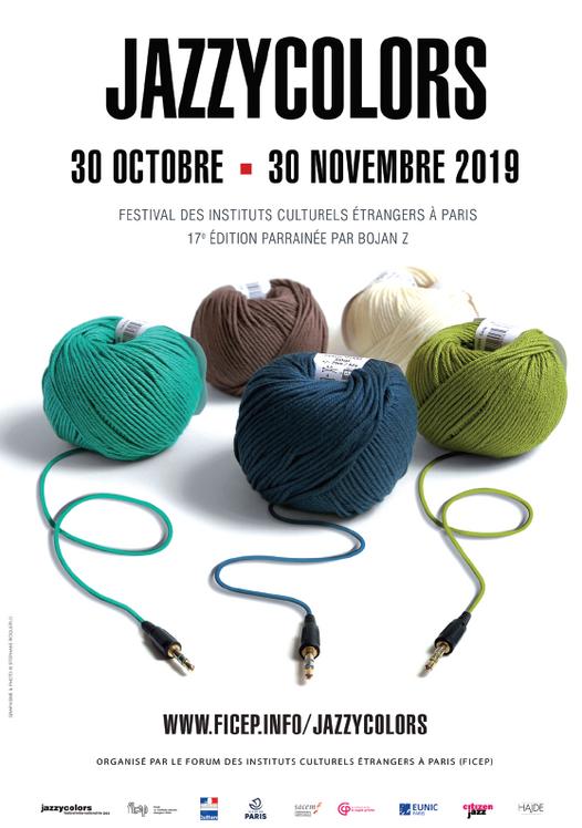 Jazzycolors 2019 : la 17ème édition du festival de jazz des centres et instituts culturels étrangers