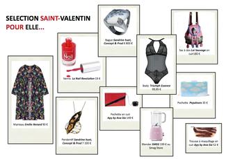 Saint Valentin, des Idées cadeaux pour elle et pour lui