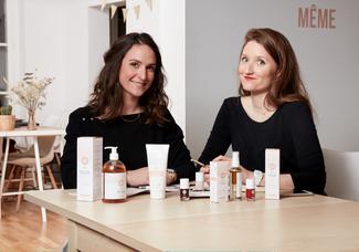 Découvrez le portrait de Judith Levy et Juliette Couturier, fondatrices de MÊME, première marque de
