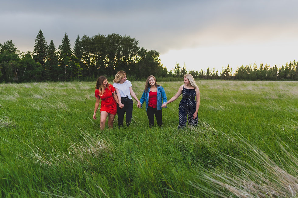 Photography in Red Deer - Outdoor Family Photos in Fall