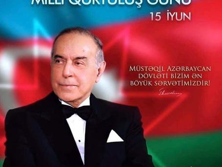 15 HAZİRAN AZERBAYCAN MİLLİ KURTULUŞ GÜNÜ KUTLU OLSUN ...