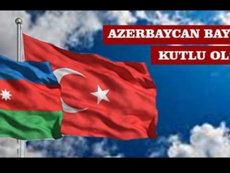 AZERBAYCAN BAYRAK GÜNÜ KUTLU OLSUN ...