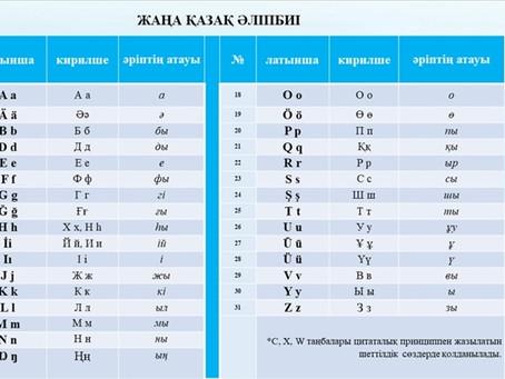 KAZAKİSTAN'IN LATİN ALFABESİNE GEÇMESİYLE TÜRK DİLİ KONUŞAN ÜLKELER ARASINDAKİ İLETİŞİM YENİ BOYUT K