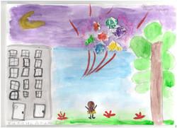 Килина Арина 3 МЕСТО в конкурсе рисунков ко Дню города 2015 среди участников в возрасте от 6 до 10 л