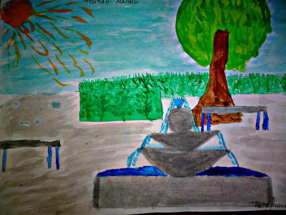 Тетерина Марианна За любовь к городу в конкурсе рисунков ко Дню города 2015 среди участников в возра