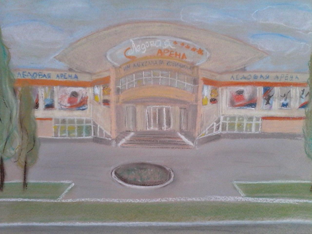 Попова Дарья 1 МЕСТО в конкурсе рисунков ко Дню города 2015 среди участников в возрасте от 11 до 17
