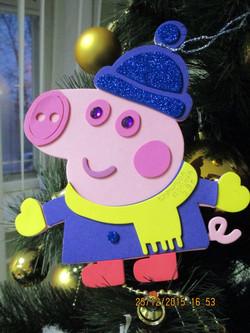 Номинация Фанату мультфильма Свинка Пепп