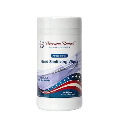 "Hand Sanitizer Wipes (5.9"" x 7.1"") MOQ (1 case) = 24 pcs @ $4 ea."