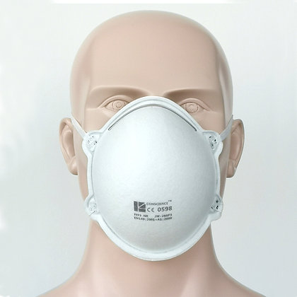 Conscience JW-288P3 (FFP3 BFE ≥99)  MOQ = 500K masks @ $1.30 per mask