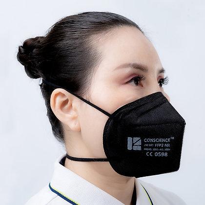 Conscience JW-017 (FFP2) CE & EUA - MOQ = 1 case (1,600 masks @ $.75/mask)