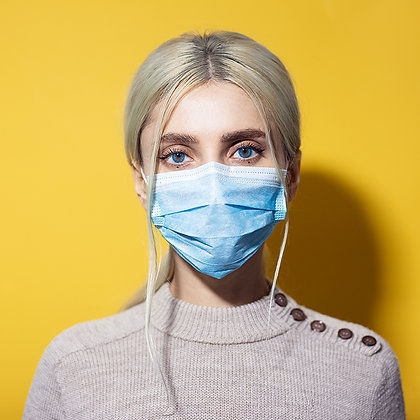 Protective Face Mask for Adults (BFE ~95% - FDA Cleared Facility)