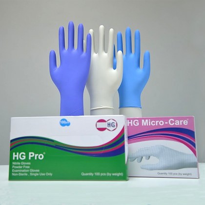 Nitrile Gloves (MOQ two shipping containers = 6.6M)