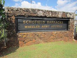 Schofield Barracks Army Base (Oahi, HI)