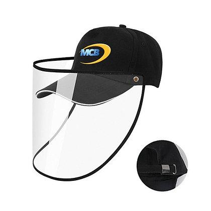 Baseball Cap w/Face Visor (adjustable strap)