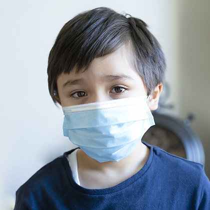 Protective Face Mask for Juniors / BFE 98% - FDA Cleared Facility