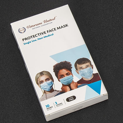 Protective Face Mask for Adults (BFE ~95% – FDA Cleared Facility)