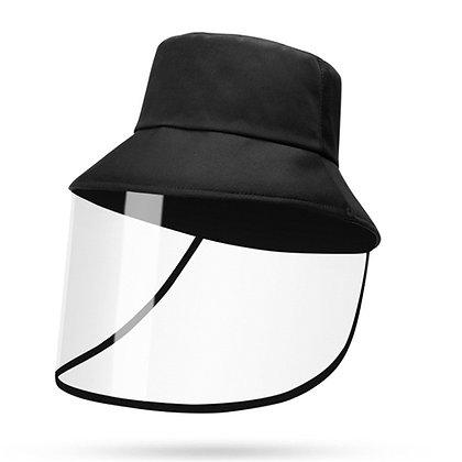 Bucket Hat w/Face Visor (Unisex)